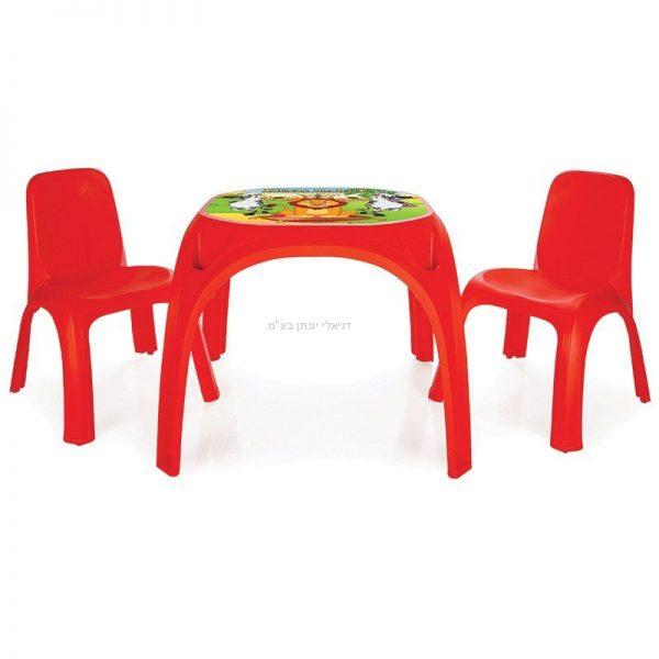 סט שולחן ו 2 כיסאות