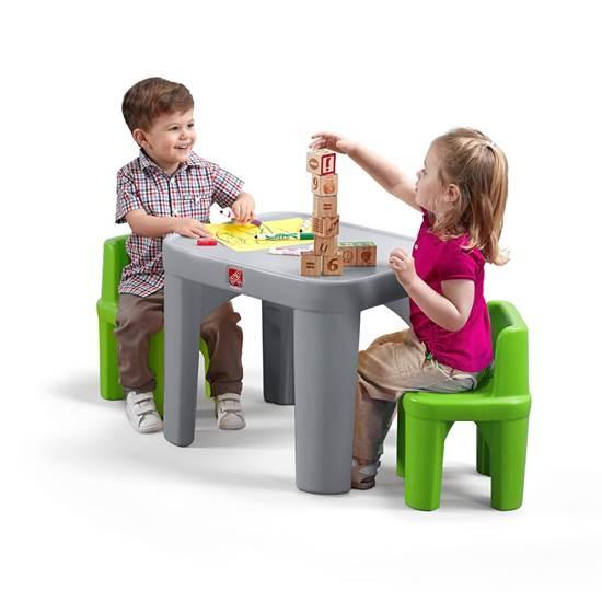 סט שולחן ו2 כיסאות